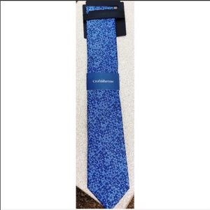 NEW Croft & barrow blue floral tie